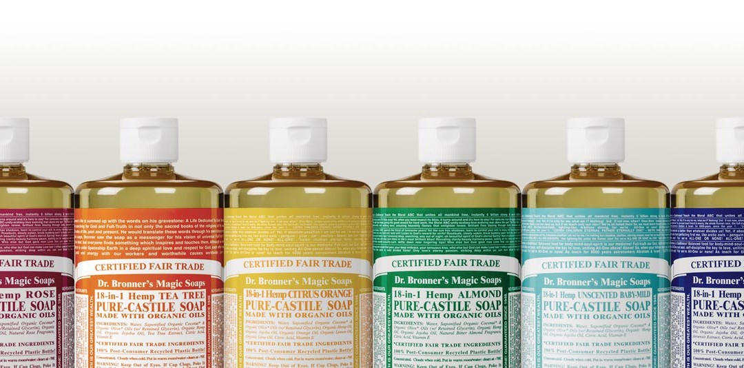 "Dr. Bronners Magic ""Vegan"" Soaps"