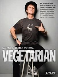 Paul McCartney is a Vegan
